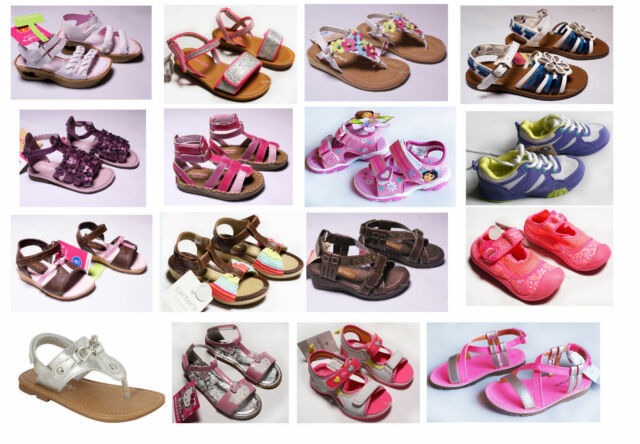 NEW Girls Toddler Sandals Summer Oshkosh Carters Shoes 5 6 7 8 9 12 NWT pink
