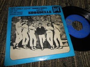 TOMMY-JAMES-AND-THE-SHONDELLS-It-039-s-only-love-Ya-Ya-2-EP-45-7-034-1966-SPAIN