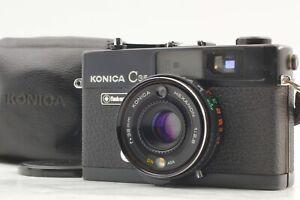 EXC-5-Konica-c35-Flash-Matic-Entfernungsmesser-35mm-Filmkamera-mit-38mm-f2-8-Japan