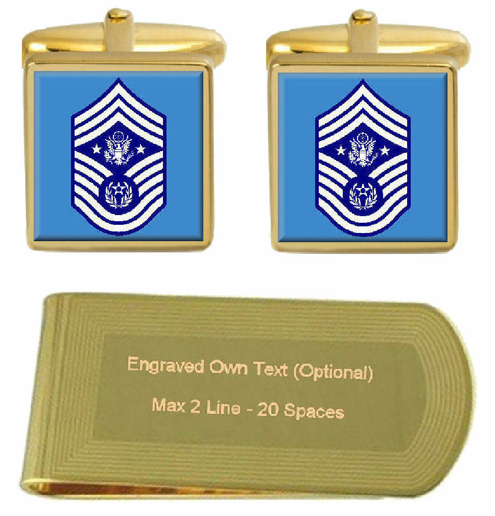 Gemelli Inciso Fermasoldi U.S Capo Master Sergente Of Of Of The Air Forza 0e4474