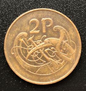 1971 Eire 2p, Two Pence Coin