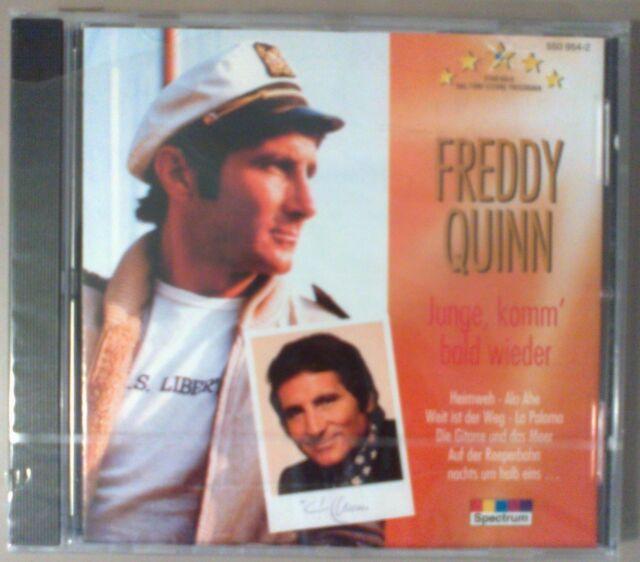Freddy Quinn CD Junge Komm bald wieder (Spectrum 550 954-2 Karussell)