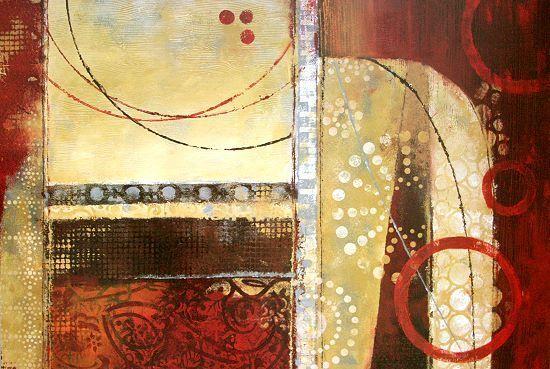 Nan  Dance of Light I Fertig-Bild 60x90 Wandbild Abstrakt