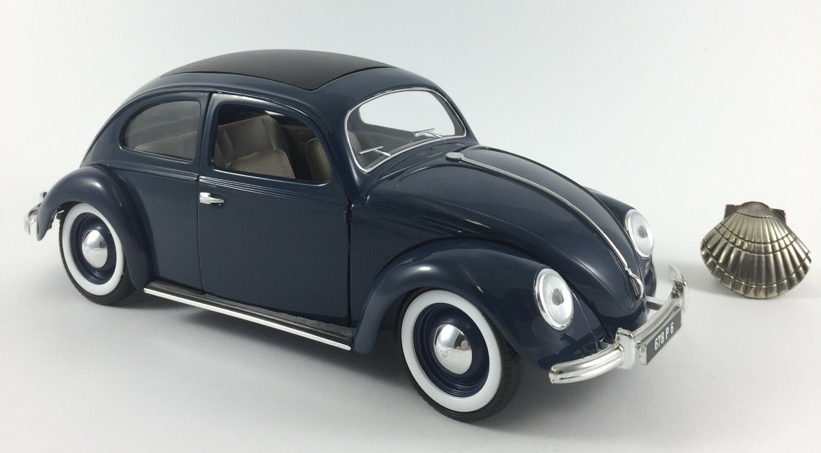 1 18 Solido Käfer Volkswagen 1938 mit OVP & Faszikel  | Mittel Preis
