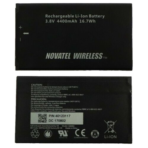 Original Novatel Jetpack MiFi 7730L Battery Mobile Hotspot P//N 40123117.01