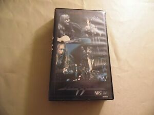 Dokken-One-Live-Night-Used-VHS-Tape-Free-Domestic-Shipping