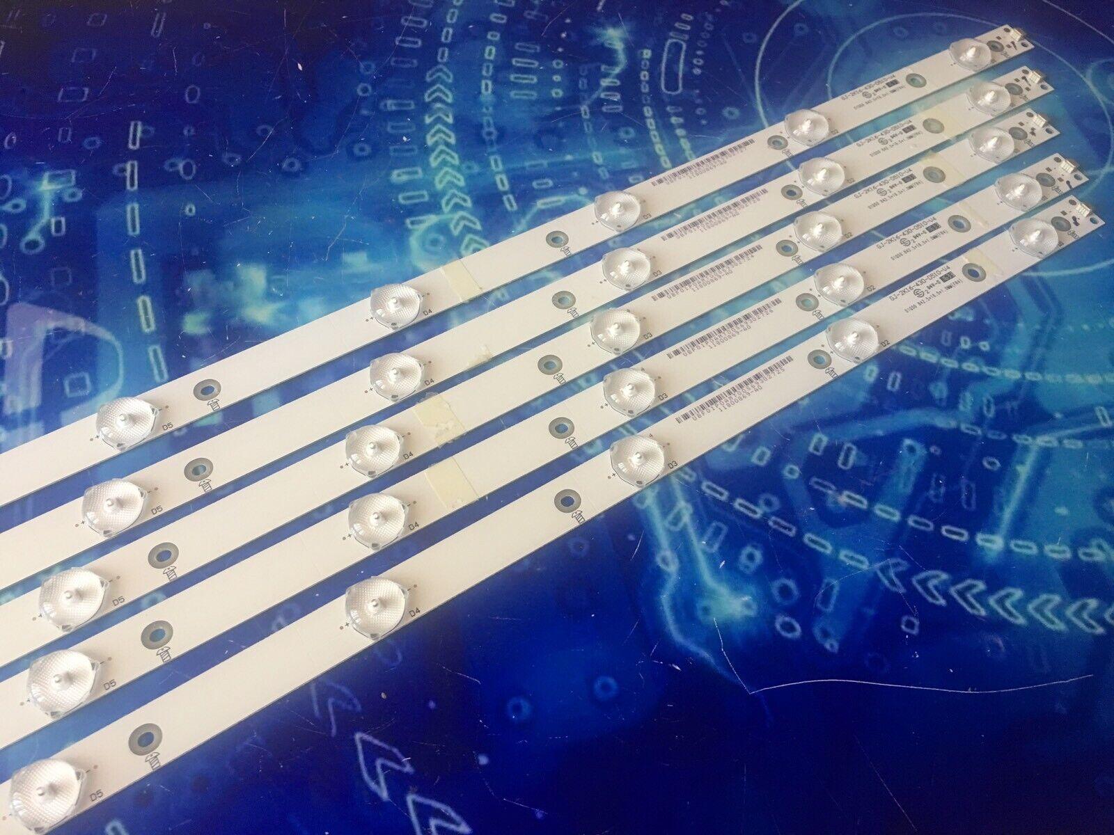 STRISCE BARRE LED 43PFT4131 12 GJ-2K16-430-D510-V4