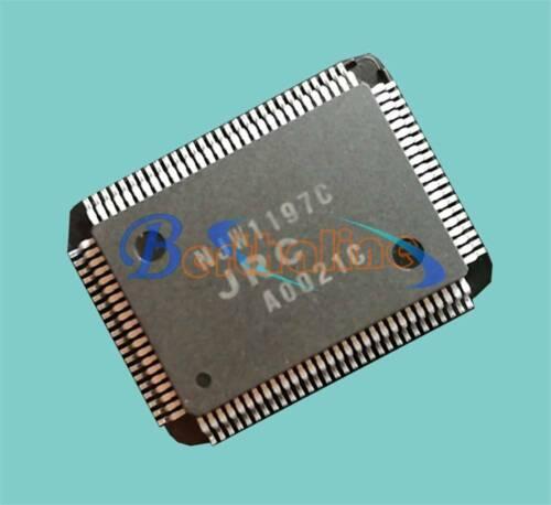 1PCS New Manufacturer:JRC NJW1197C Encapsulation:QFP