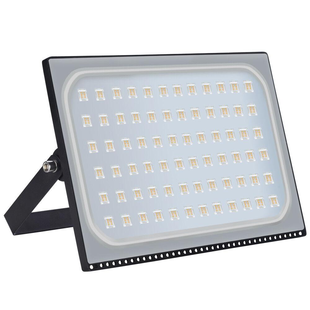 500W Ultra dünn LED Fluter Flutlicht Außen Strahler Scheinwerfer IP65 Warmweiß