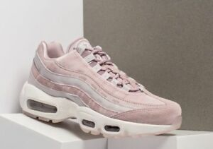 newest 0c7da 1fb5d Details about NIKE AIR MAX 95 LX TRAINERS UK 5 EU 38.5 WOMENS AA1103-600  VELVET PINK