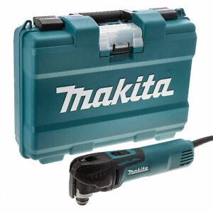 Makita TM3010CK Multi Tool with Tool-Less Accessory Change (240V)