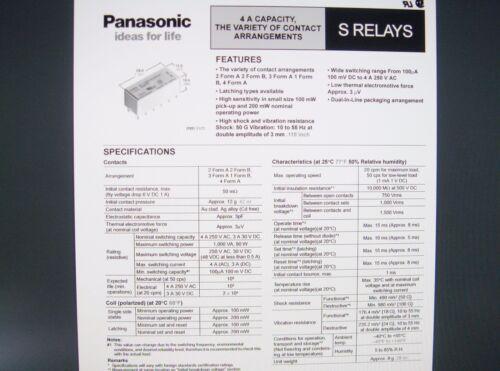 SDS Relais Gold S4-24V 24V 4xEIN 250V 4A Panasonic #20R14