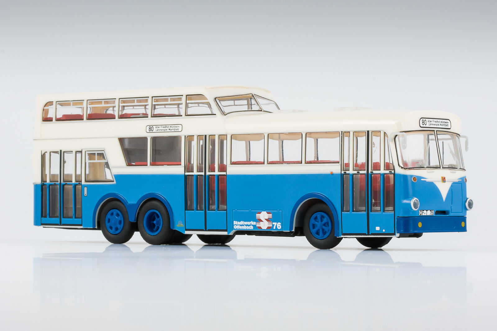 VK-Modelle HO scale Busing-Ludewig bus of OVB Offenbach