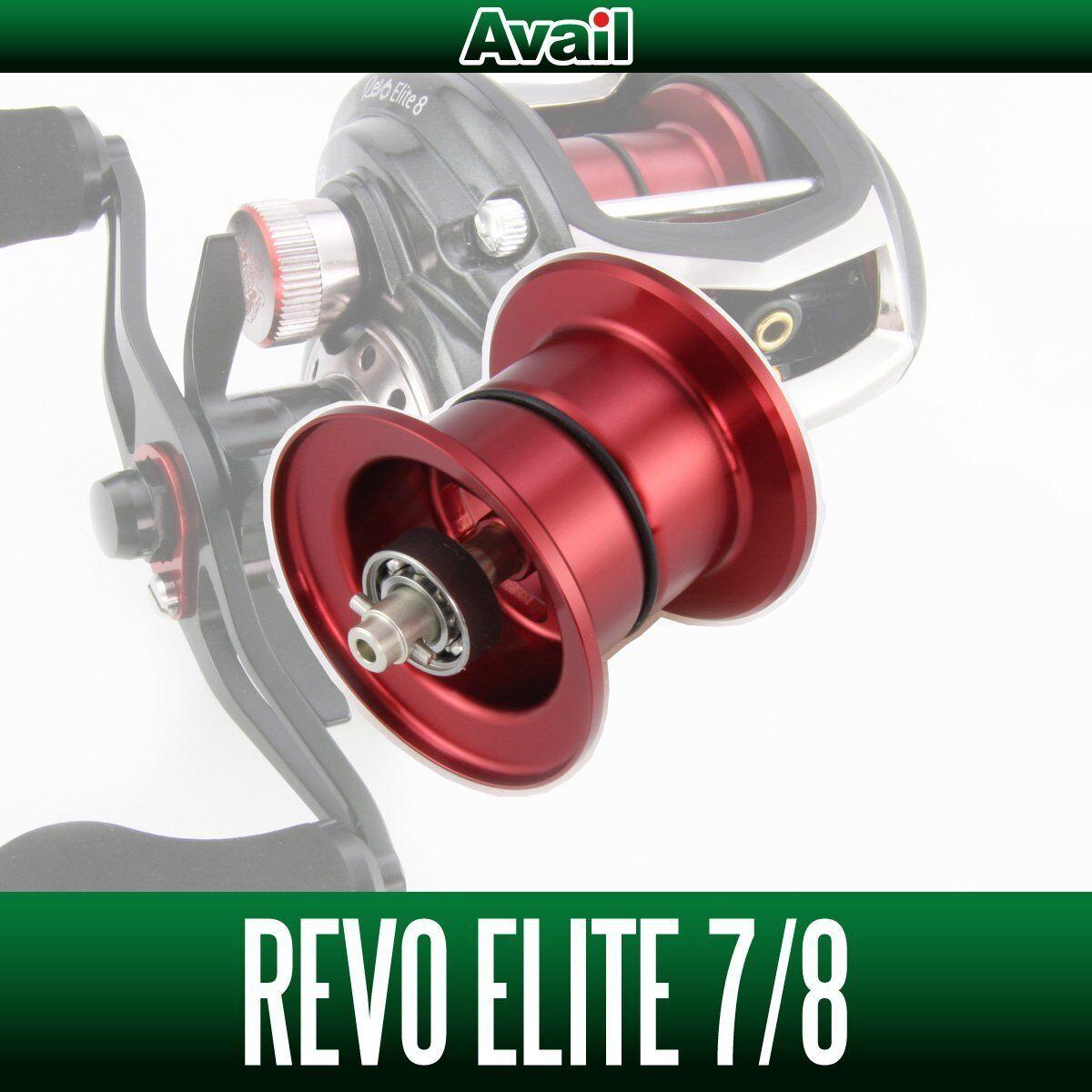Avail ABU NEW Microcast Spool RV352R-IV for Abu Revo3 ELITE  RED  up to 50% off
