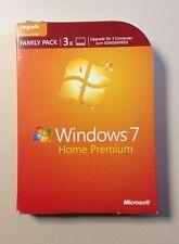 MS WINDOWS 7 Home Premium Update deutsch 32/64 Bit inkl.3 Installationen