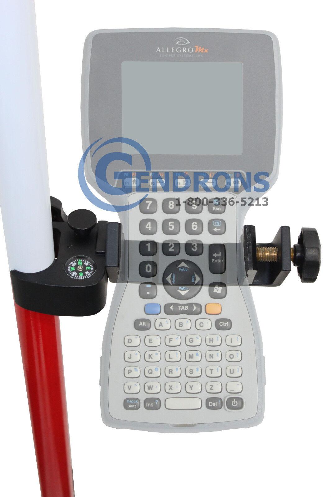ALLEGRO DATA COLLECTOR BRACKET, CARLSON, SURVEYING, CE, CX, MX, LEICA