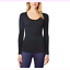 Women-039-s-32-Degrees-Heat-Thermal-Base-Scoop-Neck-Shirt-Long-Sleeve thumbnail 8