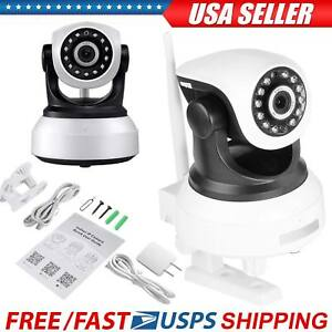 Wireless-IP-Camera-Pan-Tilt-720P-Security-Network-CCTV-Night-Vision-WIFI-Webcam