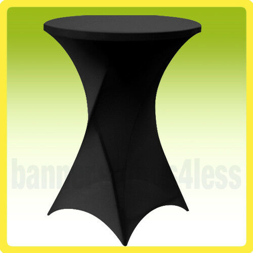 Buy 30 Spandex Cocktail Bar Table Cover Round Stretch Lycra