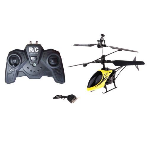 2 Kanal RC Hubschrauber HeliKopter Drohne Flugzeug mit LED-Lichter Spielzeug