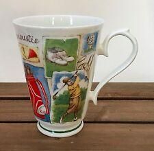 Roy Kirkham GOLF 1997 Fine Bone China Coffee Tea Mug Cup England 10 Oz