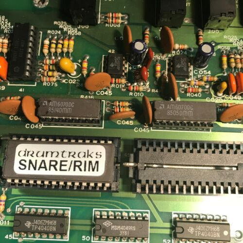Sequential Circuits Drumtraks Sound EPROMs