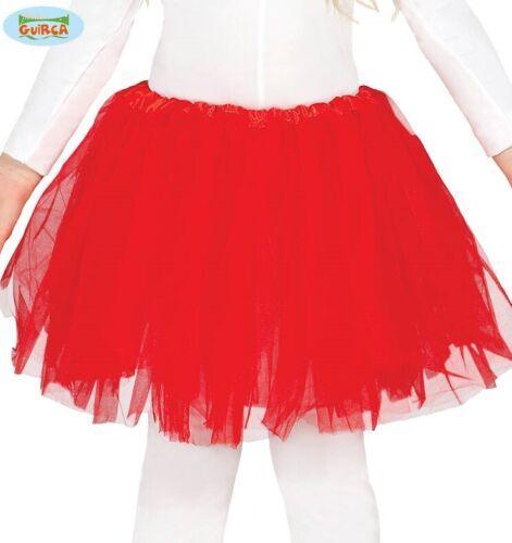 Bambino Ragazze Costume Tutu Rosso Per Bambini Tutu NUOVO FG
