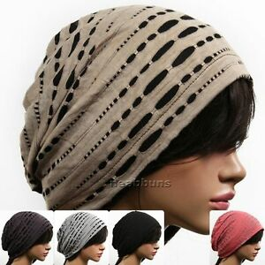 Unisex chic Summer BEANIE for men women slouchy top Hats skull best ... 6eb27e6665b