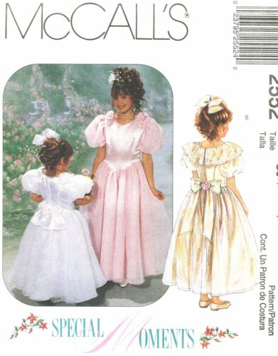 McCall/'s 2552 OOP Formal Girl/'s Gown Pattern