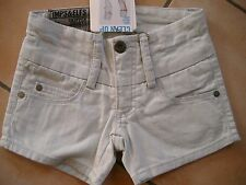 (268) Imps & Elfs Girls Hose 5 Pocket Jeans Hot Pants Slim Fit bleached gr.104