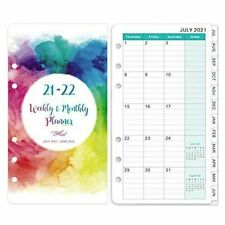 2021 2022 Planner Refills Weekly Amp Monthly Planner Refill A6 Planner Plastic