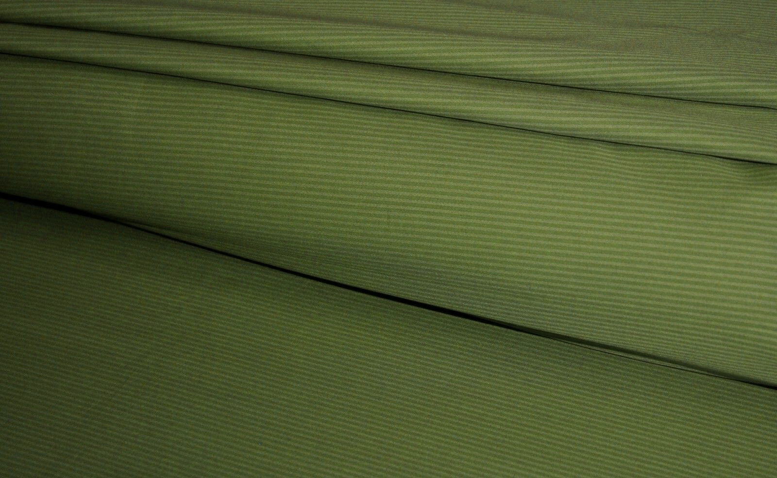 1000TC Egyptian Cotton DUVET COVER Sateen Sage Stripe