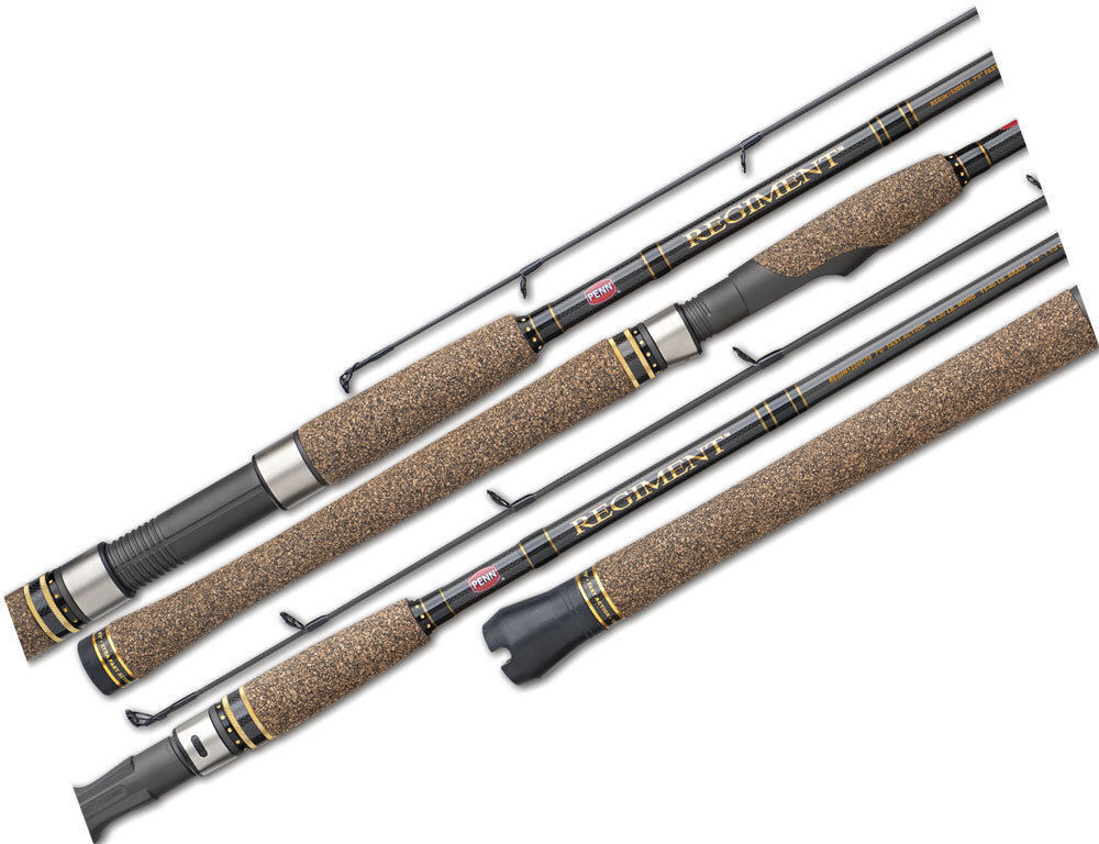 Penn REGIMENT REG761M 7'6 1 Piece 610kg Spin Fishing Rod Graphite 761M