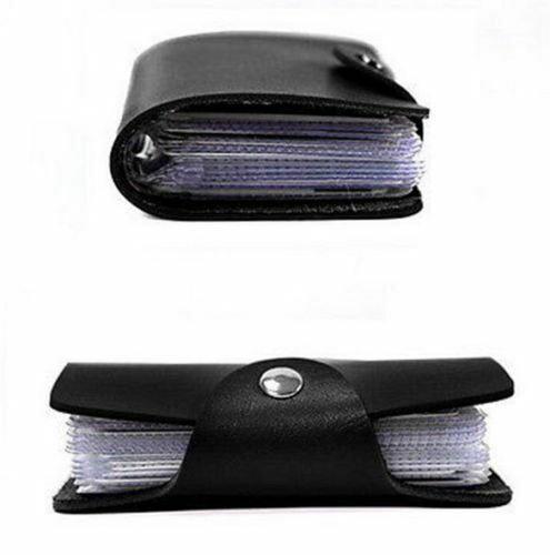 man women nurse slim leather 24 nurse id credit card holder pocket purse wallet