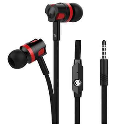3.5mm With Microphone Bass Stereo In-Ear Earphones Headphones Headset Earbuds