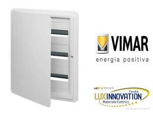Centralino Estetico Incasso 54m Bianco Vimar V53154 B Quadro