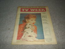 CLEVELAND PLAIN DEALER OHIO TV WEEK GUIDE 1960 SARI LEWIS ZORRO GUY WILLIAMS