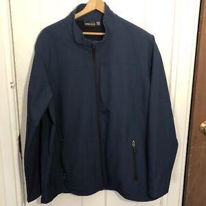 Swiss-Tech-Jacket-Mens-Size-2XL-XXL-50-52-Blue-Cove