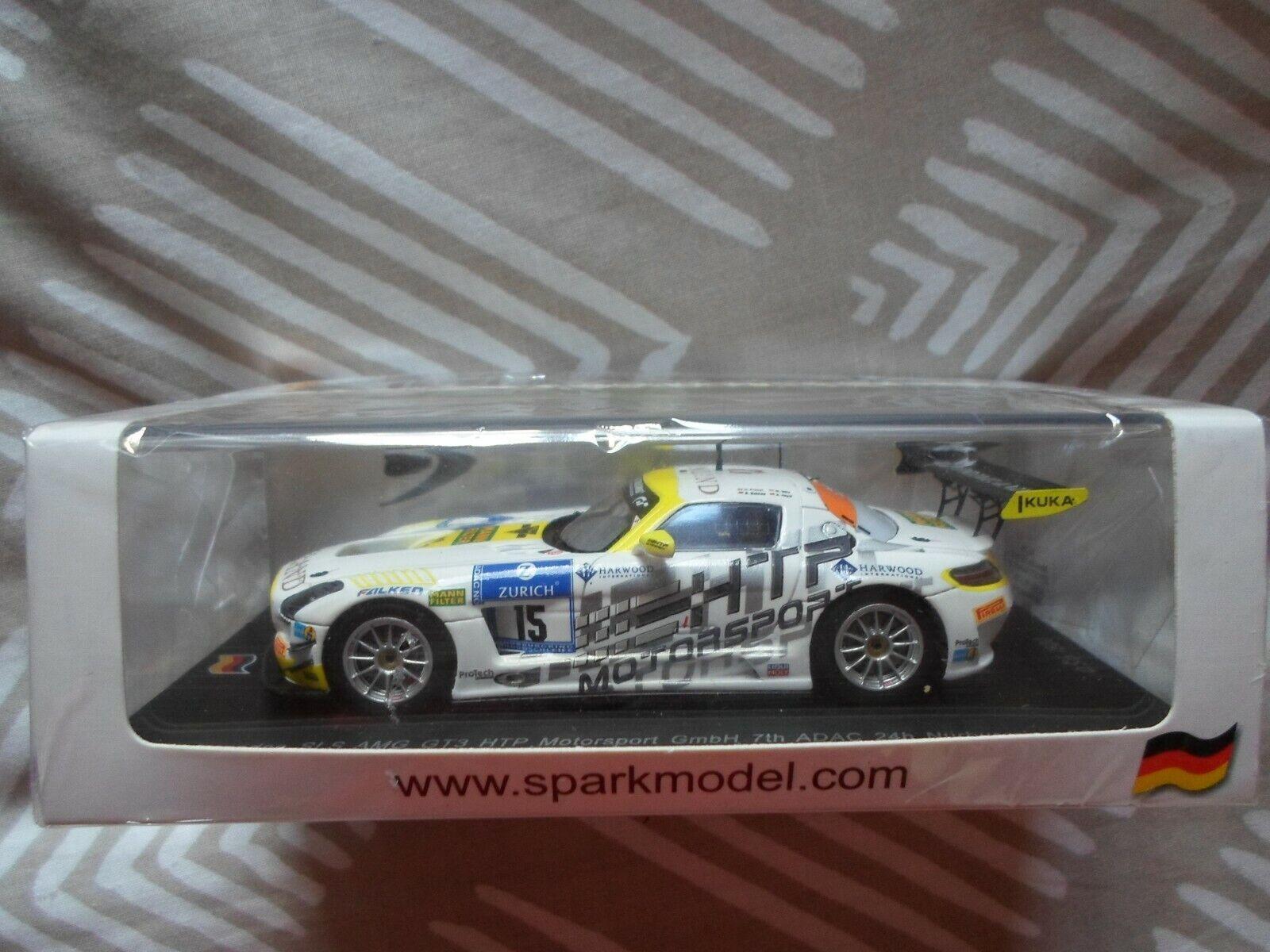 Model Car - 1 43 - Nurburgring 24 Hour - Mercedes Benz SLS AMG GT3  15 2014