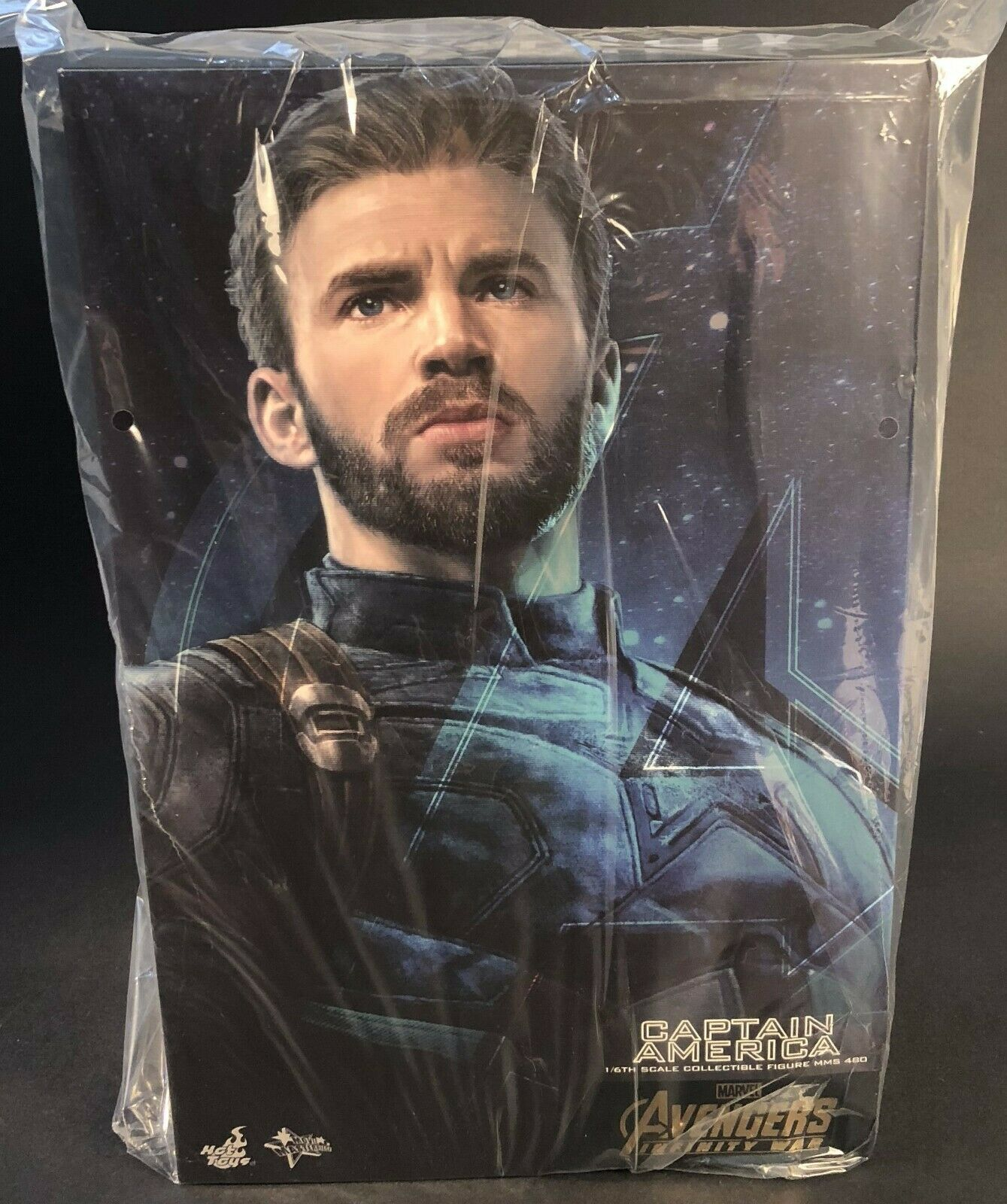Hot Toys MMS480 Avengers 3  Infinité War Captain  America Chris Evans 1 6 Figure  articles de nouveauté