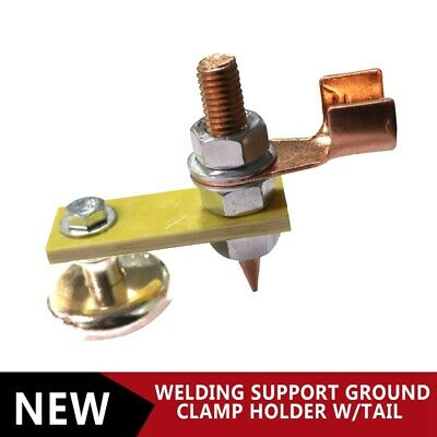 35mm Welding Magnet Head Magnetic Welding Support Ground Clamp Holder With Tail