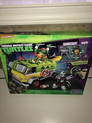 Mega Bloks Teenage Mutant Ninja Turtles TMNT Party Wagon Set NIB