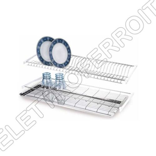 Drainer colapiatti Recessed 56//76//86 CM Steel with Base Tray drops
