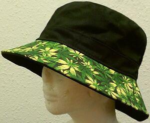 59aed29db5b MARIJUANA CANNABIS CHRONIC KUSH POT HEMP LEAF WEED PLANT CAP BUCKET ...