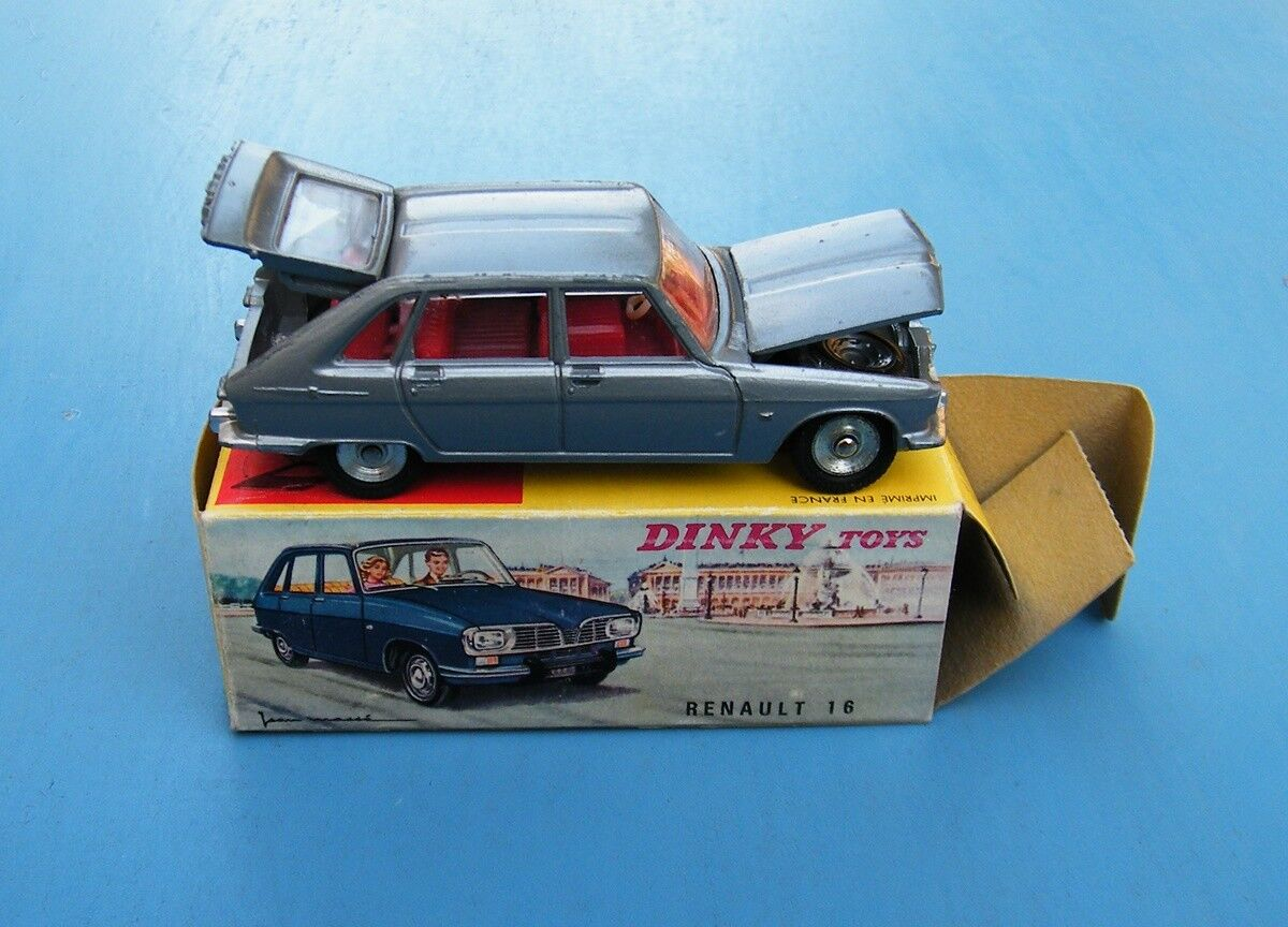 French Dinky Toys 537 RENAULT 16 ORIGINAL BOXED EX