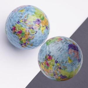 Fun-Golf-Balls-the-earth-ball-Golf-ball-gift-Global-Map-Color-Golf-Balls-Surlyn