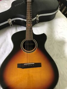 Andrew White Acoustic Electric Guitar - Freja 112 3TS