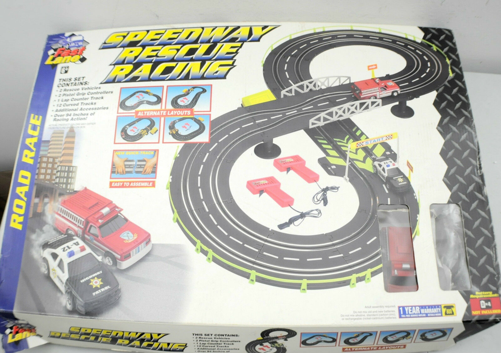 Vintage Fast Lane Speedway Rescate Racing
