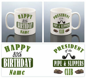 Image Is Loading 80th BIRTHDAY MUG 80 PERSONALISED Cup 1939 Birthday