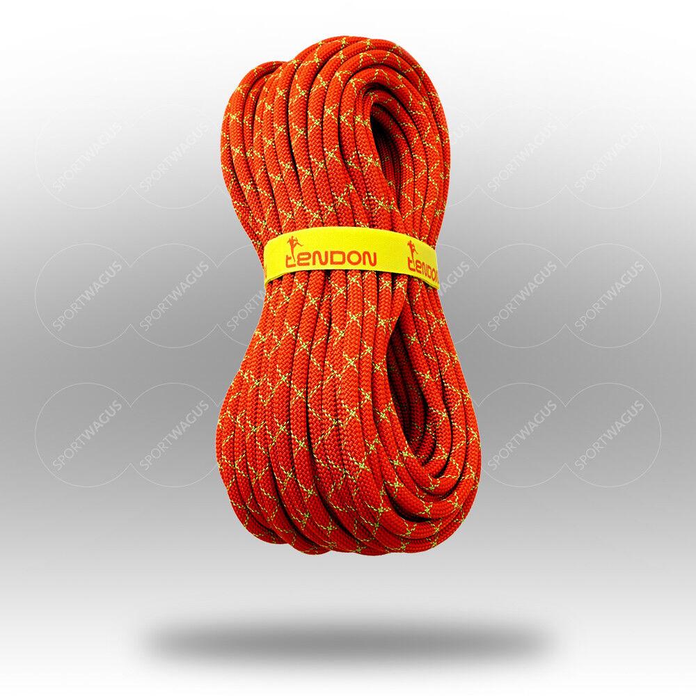 Kletterseil 9,8mm Klettern Meterware  10 20 30 30 30 40 50 60 70 80 ... Seil Sicherung  | Exquisite (mittlere) Verarbeitung  | Ausreichende Versorgung  8df82b